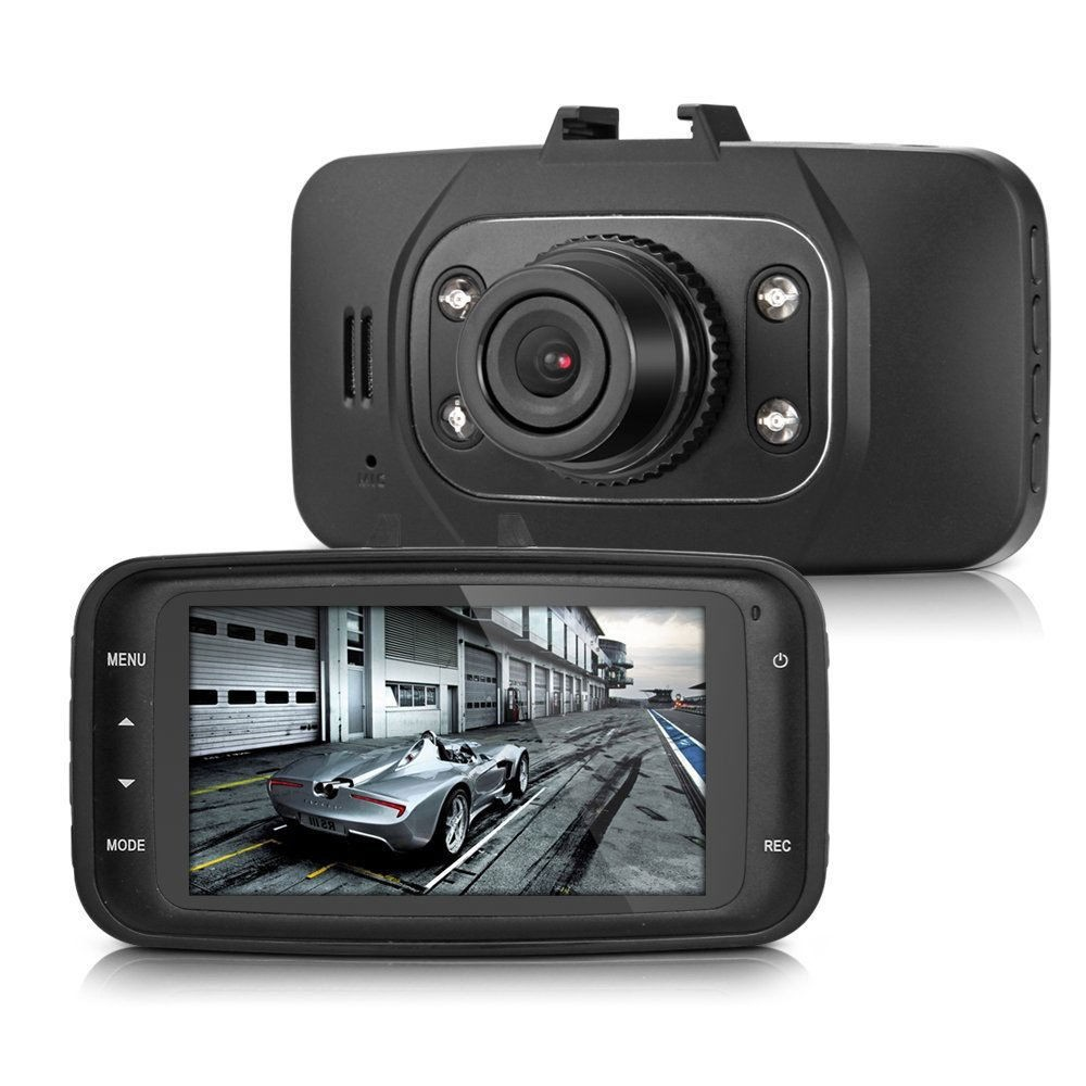 2.7 Inch 1080P full hd car dvr GS8000l driving security camcorder video