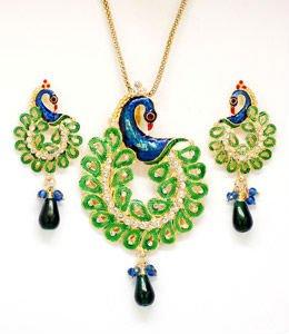 Kundan polki pendant set cjtl buy pendant set product on kundan polki pendant set cjtl aloadofball Choice Image