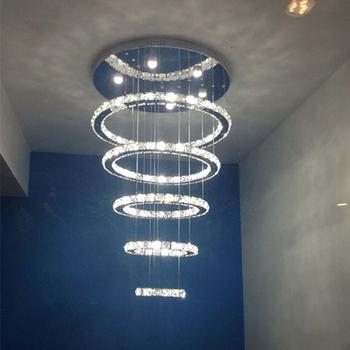 Led Anhänger Lichter Runde Kristall Hängen Lampe Led Leuchten Moderne  Anhänger Lampe Ledcristal Lüster Diy Stil - Buy Led Anhänger Lichter Runde  ...