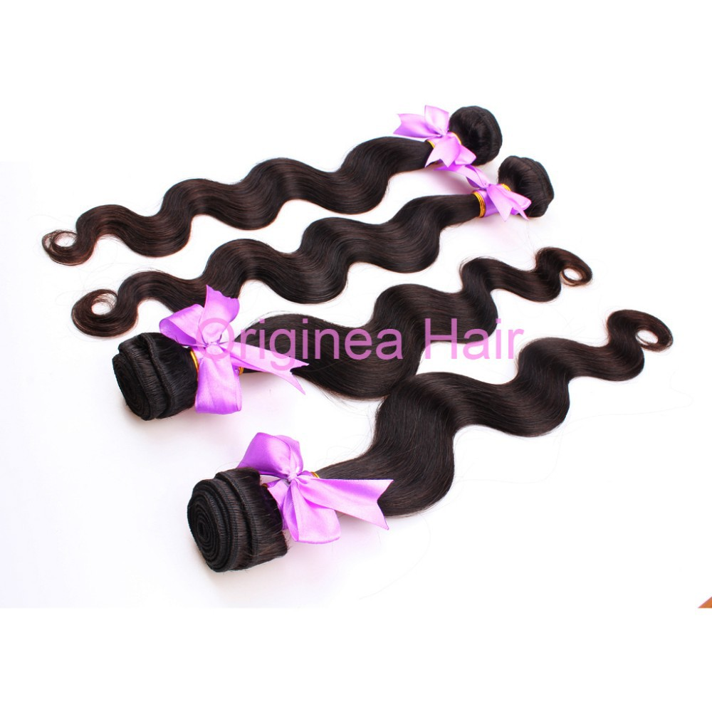 Popular clip-on human hair bang