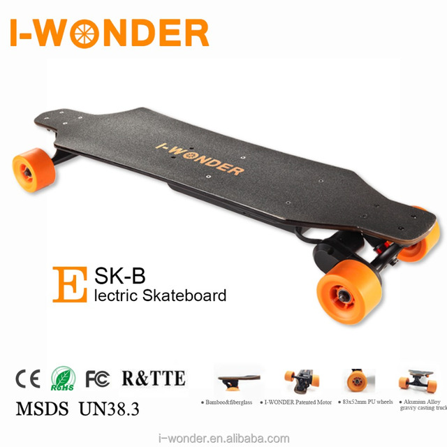 SK-B I-WONDER 1200W DC Brushless Motorized boosted Electric Skateboard/Bluetooth Remote
