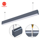 4ft 8ft up and down led pendant light, linkable led linear pendant light up and down emitting 40w 60w 75w 80w 90w 120w