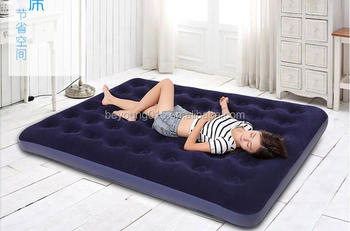 6b3b8a7f36b3 Bestway easy inflate queen size flocked comfort air bed inflatable mattress  built in foot pump