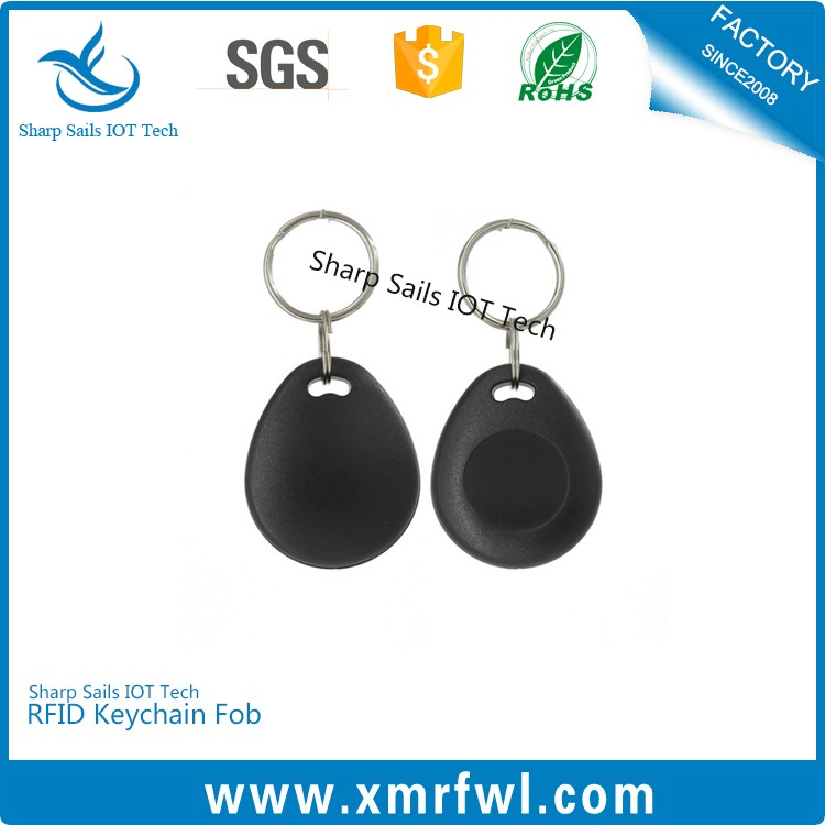 Rewritable 125khz t5577 rfid keyfob