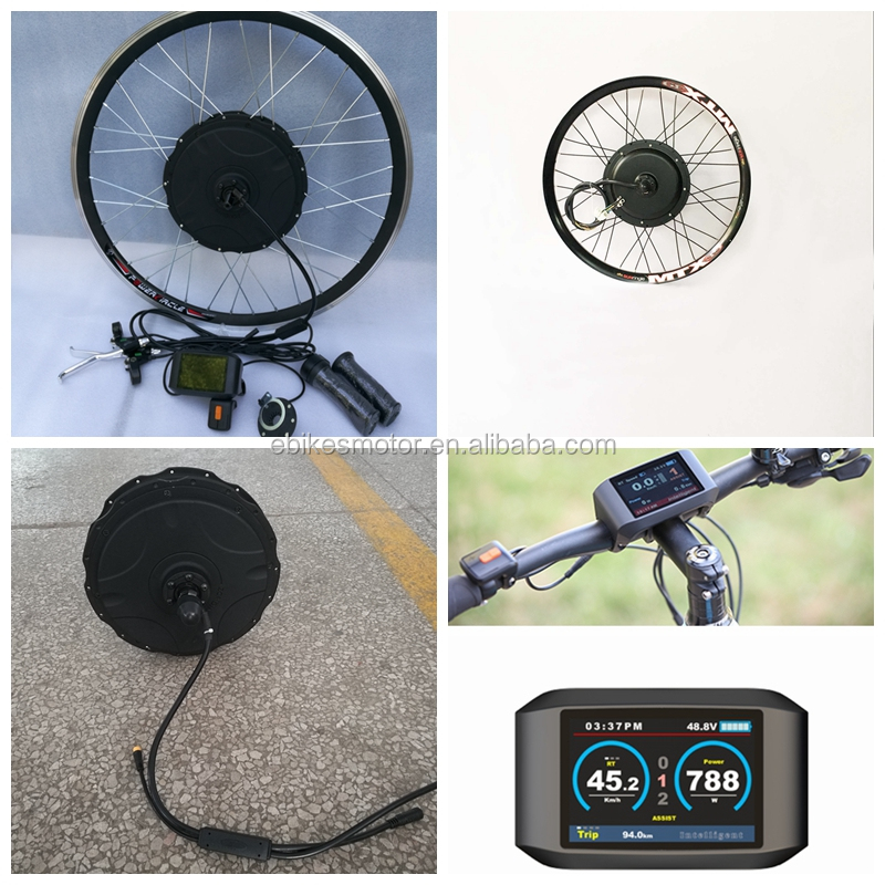 "26"" Rear or front Wheel 48V 1000W Electric Bike Bicycle Motor Ebike Kit"