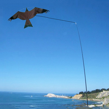 4m high quality   telescopic pole bird scarer  kite  flying