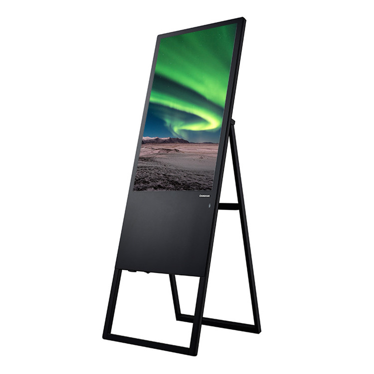 43 portable digital advertising display screens touch screen monitor 43inch lcd advertising video display advertising player