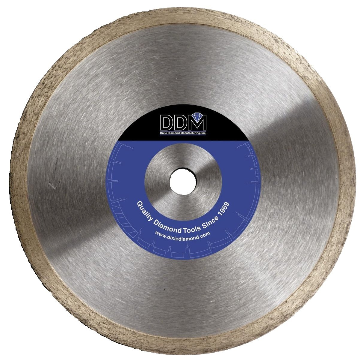 Dixie Diamond Manufacturing T204.5 Tile Blade Premium Grade for Wet Cutting, 4.5-Inch X 0.060-Inch X 7/8-Inch with 5/8-Inch Bushing