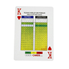 Customized Printed Personalized Size New Advertising Paper Cards With Logos Plastic High Quality Custom Playing Card Casinos