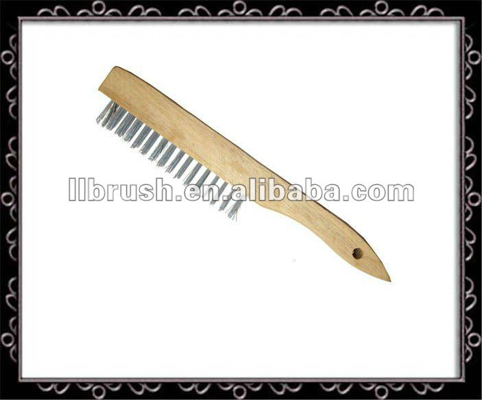 stainless steel wire mesh cleaning brush