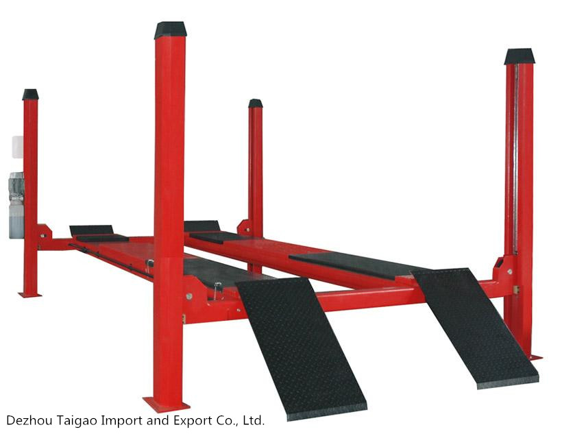 China Popular Four Post Car Lift for Sales /Used 4 Post Car Lift for Sale/car hoist 4 post portable