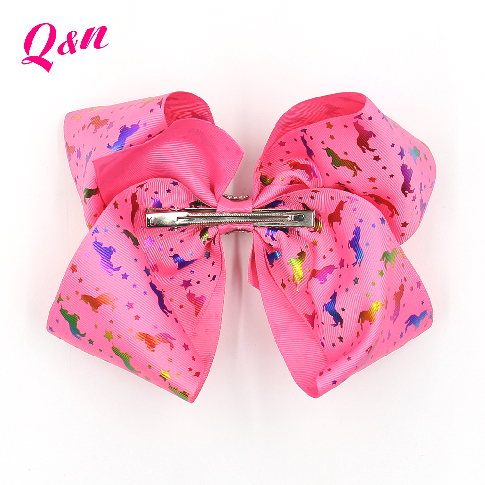 hologram cheering bows grosgrain hair bow ribbon for bows