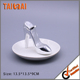 silver High heeled shoes type Ceramic jewelry ring Holder dish