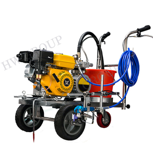 Road hand-pushed safety line painting equipment/road marking paint machine