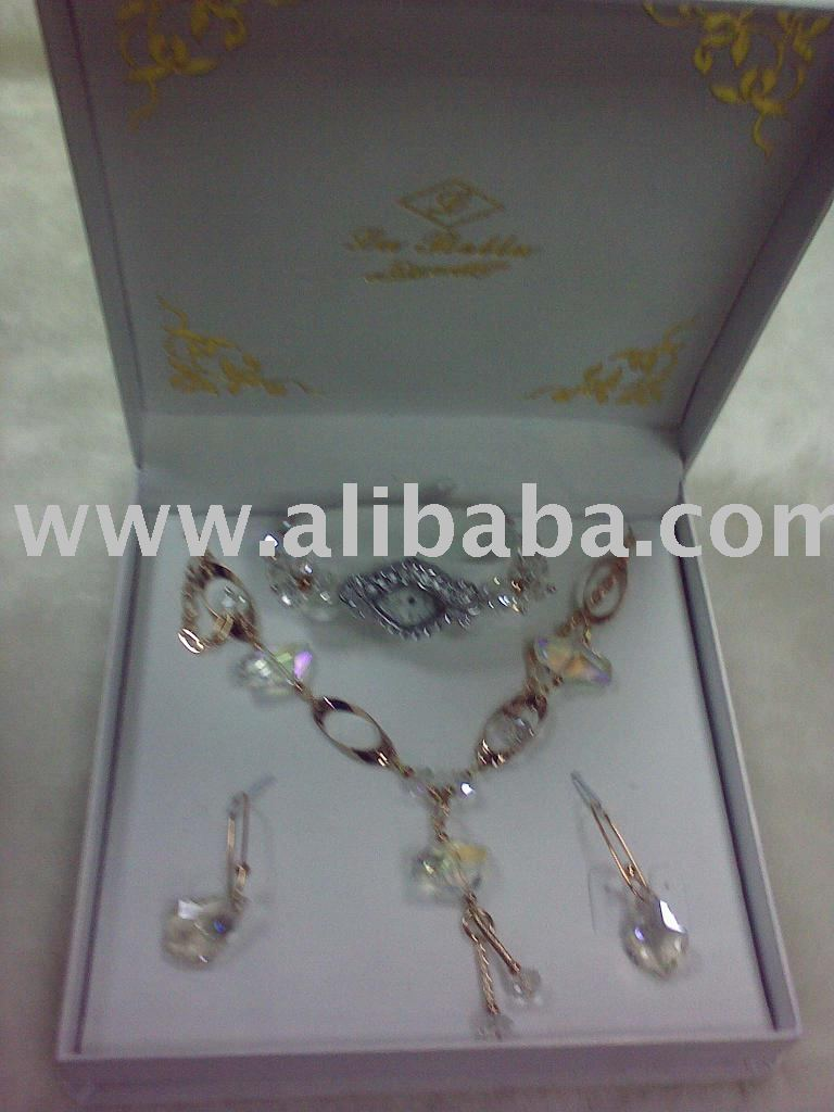 Watch And Jewellery Gift Set