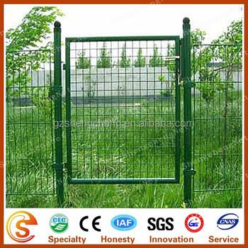 Iron Mesh Gate Design Pvc Coated Metal Welded Wire Gate - Buy Metal ...
