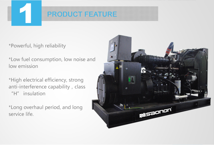 Wholesale engine spare parts 500kVA portable diesel generator with ATS and spare parts