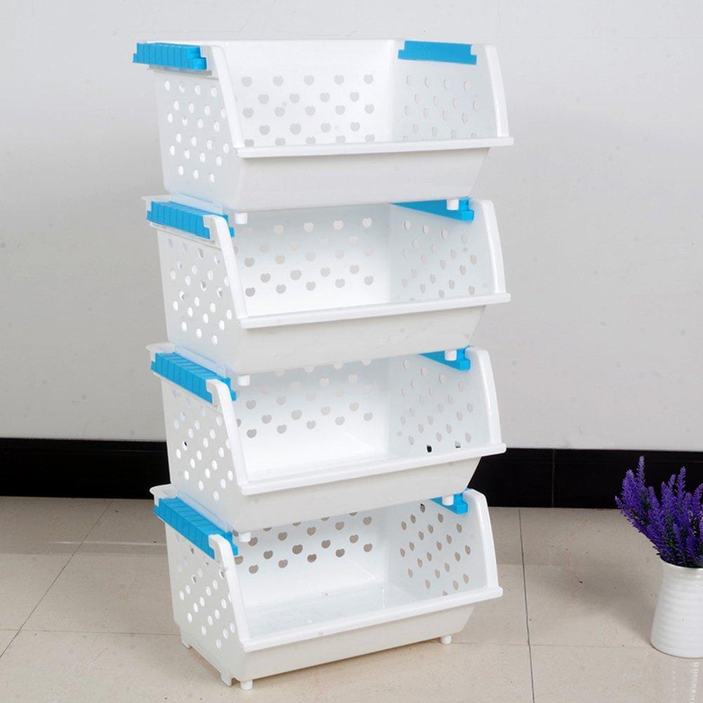Bathroom Storage Shelves Baskets Of Multi Layer