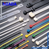 Factory direct sale ss inlay block nylon cable zip ties