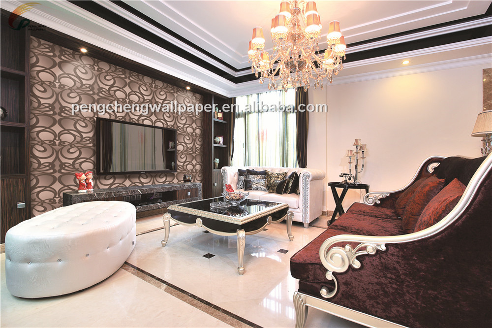 Modern Wallpaper 3d For Office Walls Decoration Painting