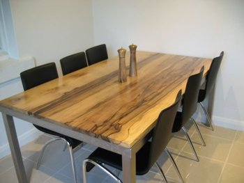 Black Heart Sassafras Dining Table Buy Dining Table
