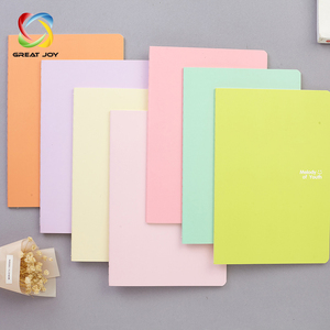wholesale recyclable colorful carbon cute paper fancy notebook