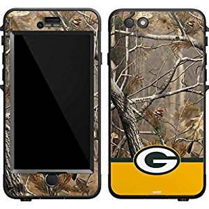 NFL Green Bay Packers LifeProof Nuud iPhone 6 Plus Skin - Realtree Camo Green Bay Packers Vinyl Decal Skin For Your Nuud iPhone 6 Plus