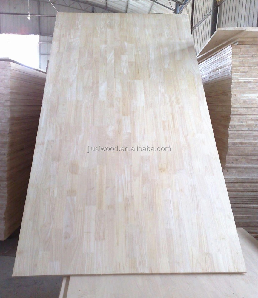 Rubber Wood finger joint panels/ Rubber Wood finger joint boards