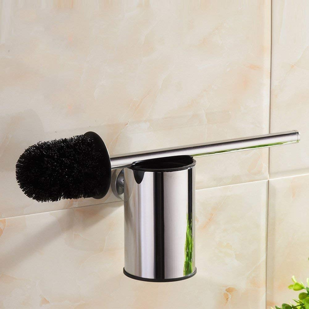 L.I. Bathroom in Stainless Steel Toilet Brush Chromium Copper Toilet Bathroom Accessories Equipment of The Hotel Set of Brushes