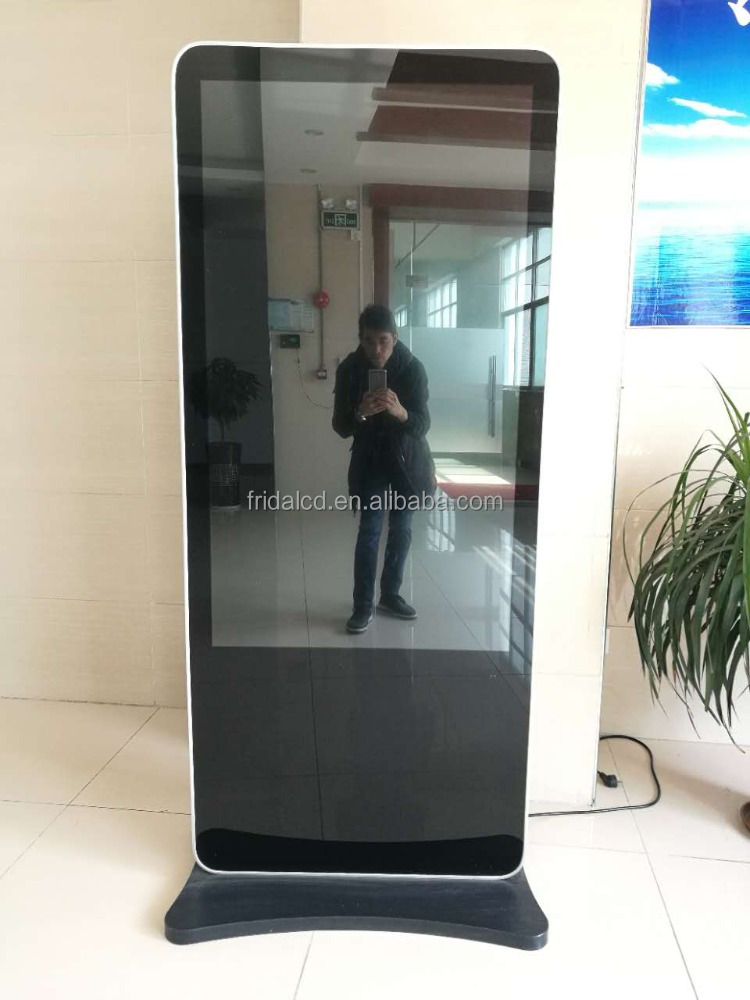"Android kiosk interactieve display 65 ""lcd digital signage"