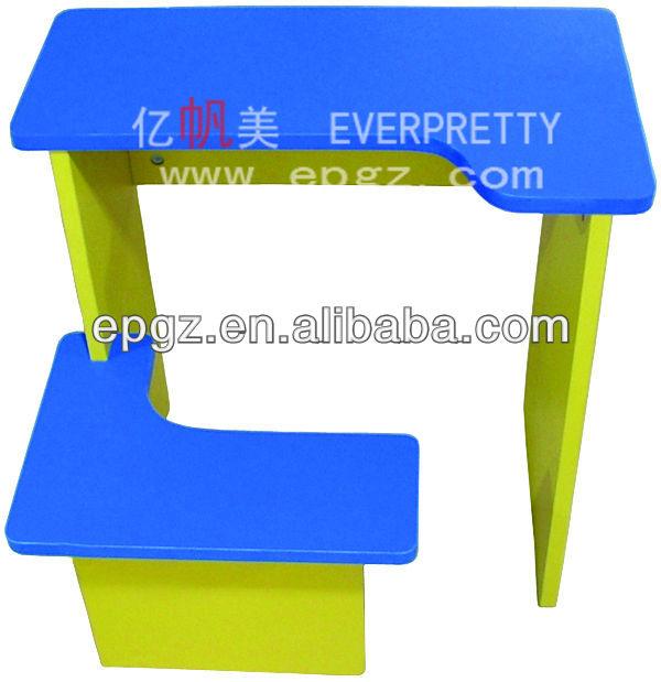 Guangzhou vivero mobiliario escolar/baby colorido con silla de ...