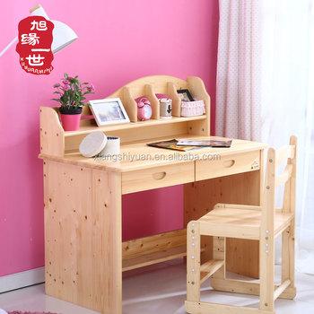 Menghemat Ruang Rumah Kayu Sudut Tinggi Disesuaikan Meja Dan Kursi Set Untuk Anak Anak Belajar Buy Product On Alibaba Com