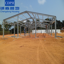 steel structure prefabricated mobile hen house
