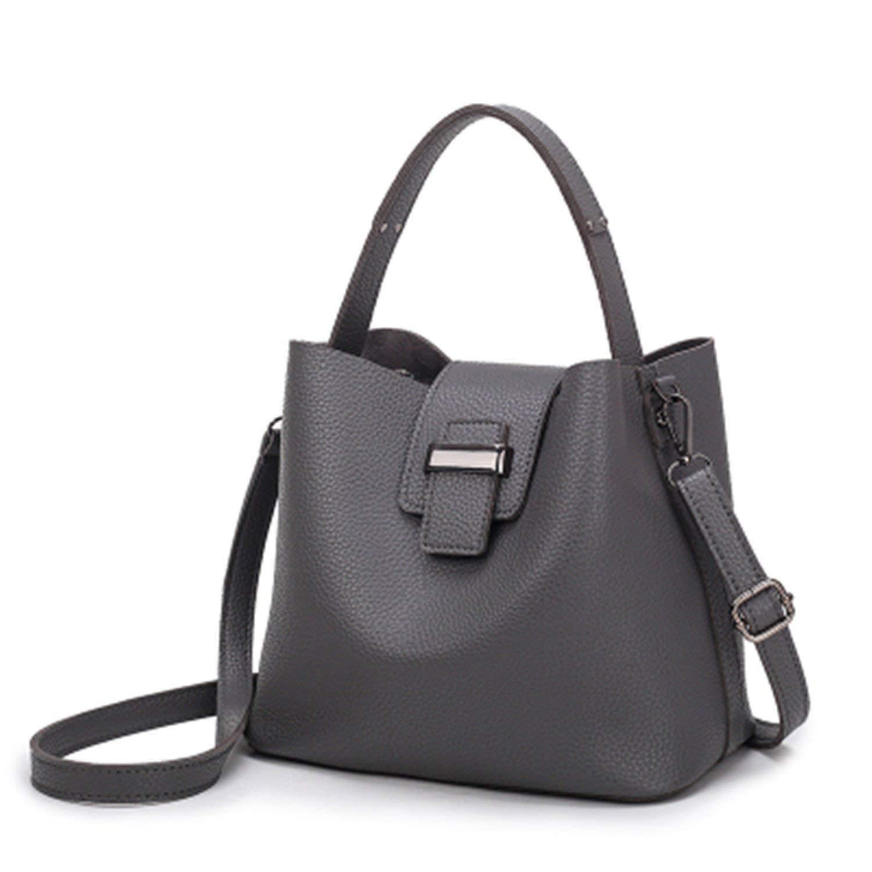 Get Quotations · Daniig Small Soft Leather Women S Handbags Women Bucket Shoulder  Bags Ladies Hand Bags Ladies 9864435ada357