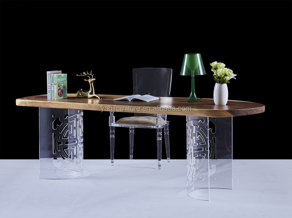 Acrylic table for manager office new design  meeting table