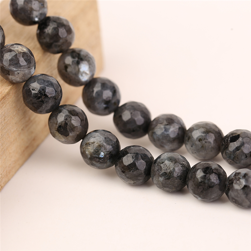Hot Selling 2017 Amazon Black Shining Matte Agate Beads Natural Gem Stone Wholesale