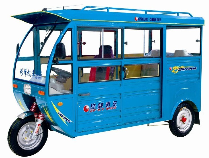 Open Body Passenger Electric Auto Rickshaw