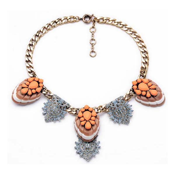 Wholesale luxury fashion jewelry south korea necklace