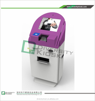 cafeteria /buffet restaurant food order cash payment kiosks multi function financial equipment