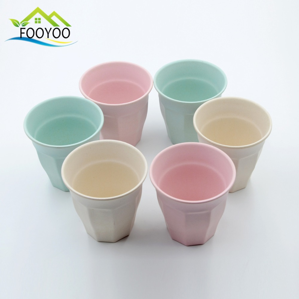 Melamine mugs bamboo fiber drinking cup