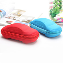 2016 New Children Gifts Car Pen Bag Creative School Supplies Kids Pencil Box Multifunctional Large Capacity Zipper Pencil Case