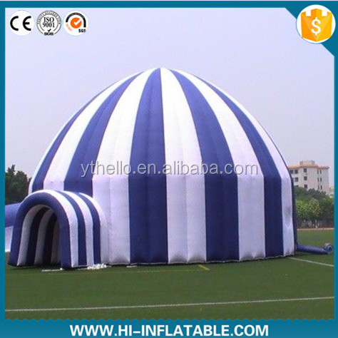Custom made white inflatable wedding / event / party / christmas inflatable igloo tent No. dtn006 for sale