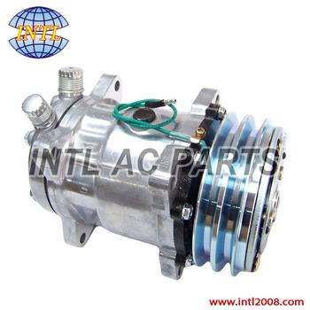 Sanden Sd5h14/5h14hd/sd508/5h14/508 Auto Ac Compressor 132mm 12v Sanden  4510 4509 4644 6668 6664 S6664 Co 4510 - Buy Sanden