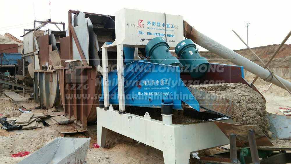 High efficiency quartz sand recycle system, fine sand recycle machine hot sale
