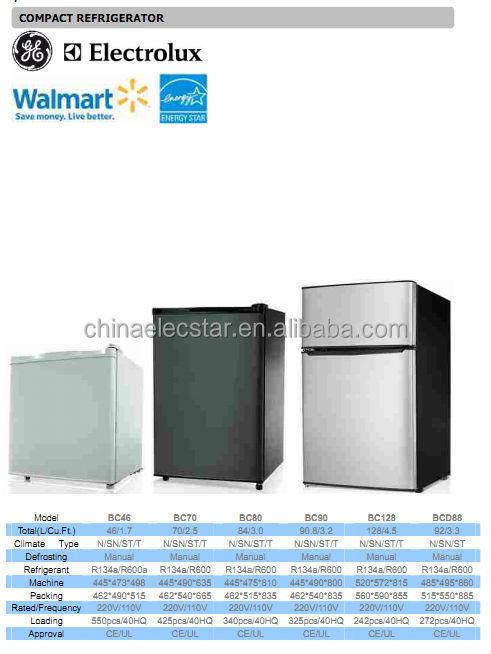 Small Refrigerator Absorption Mini Bar Refrigerator Lpg