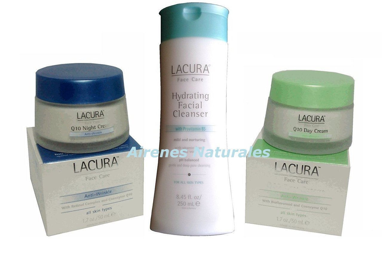 Lacura Face Care Q10 Renew Anti-Wrinkle Day Cream + Lacura Q10 Anti-Aging