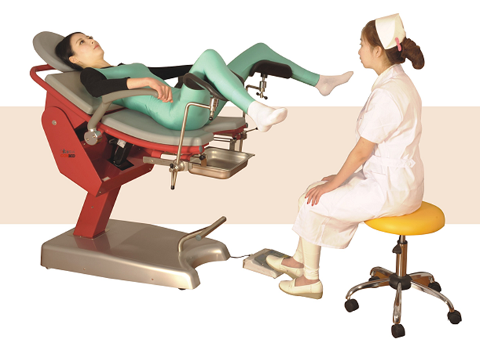 YFDC-LT06 Medical  Equipment  Manufacturer Portable Gynecological Exam Table