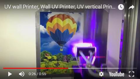 Limitless Wireless PAD Control 2880dpi Vertical UV Ink  Wall Printer Price