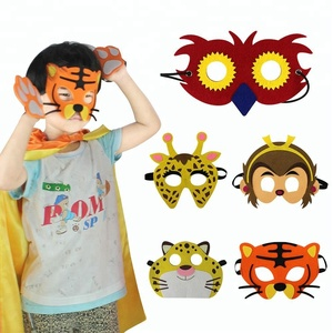 Sturdy forest animals mask The Beast Of Carnivores In Jungle Animal Masks Composition
