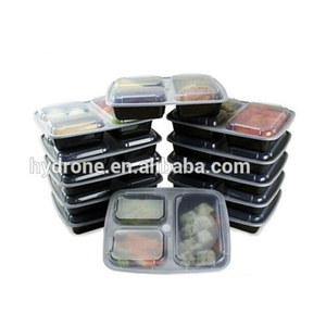 3 Compartment Food Containers BPA Free Bento Boxes Meal Prep Food Containers
